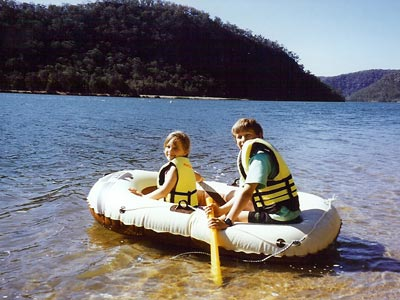 Hawkesbury River water sports